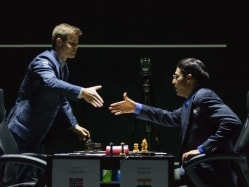 Viswanathan Anand Draws vs Magnus Carlsen at London Chess Classic