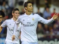 Ronaldo Nets Brace as Real Madrid Hammer Eibar 4-0