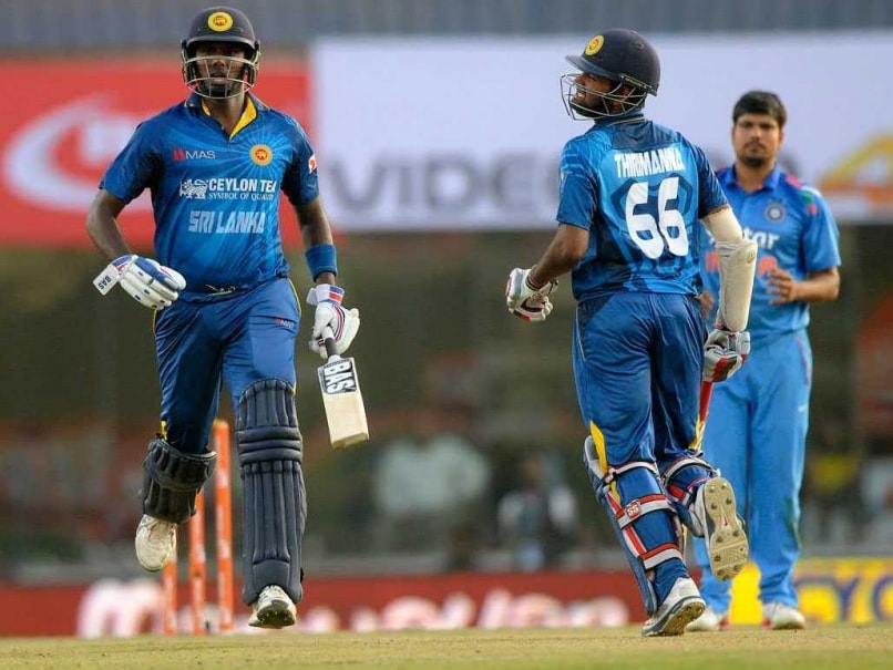 Angelo Mathews Lahiru Thirimanne