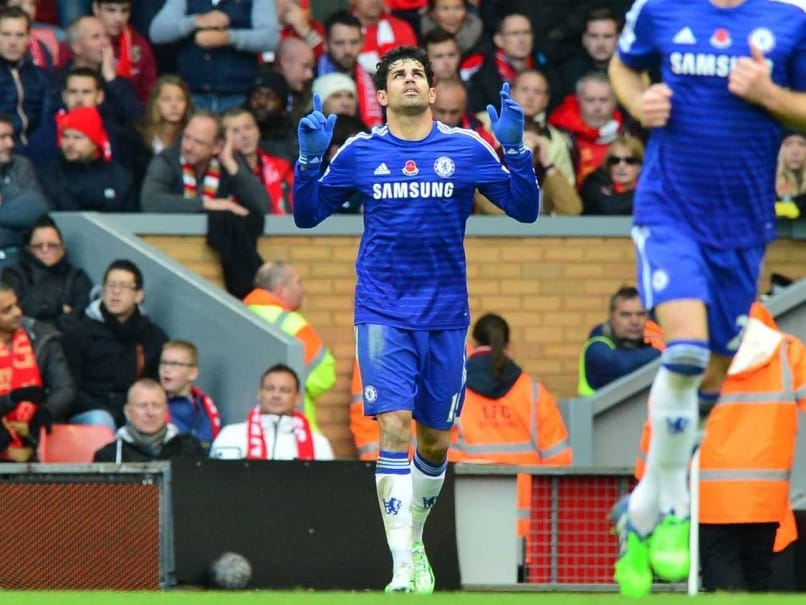 EPL: Diego Costa Scores Winner as Chelsea Beat Liverpool 2-1