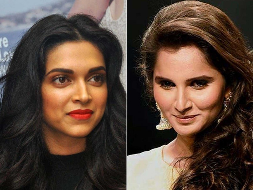 Sania Mirza Wants Deepika Padukone to Play Her On-Screen Role