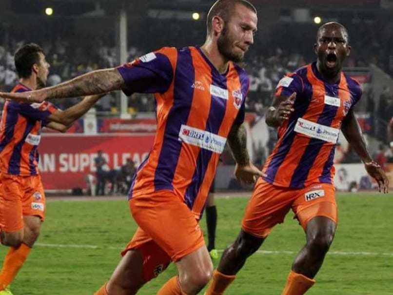 ISL: FC Pune City Beat NorthEast United, Move Up to 4th Spot