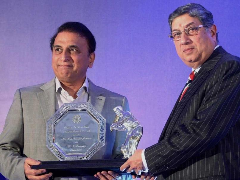 N. Srinivasan is Answerable for Keeping Mum on Betting: Sunil Gavaskar