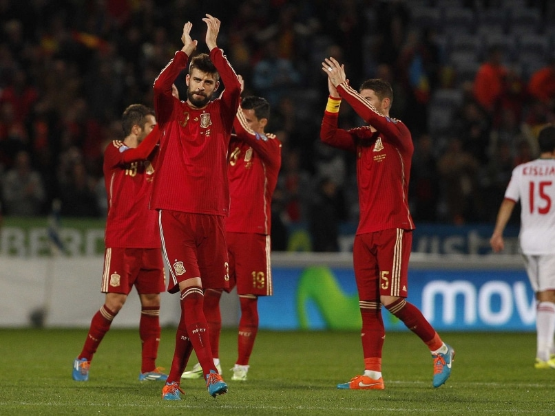 Spain Boss Vicente del Bosque Promises Fireworks Against Germany