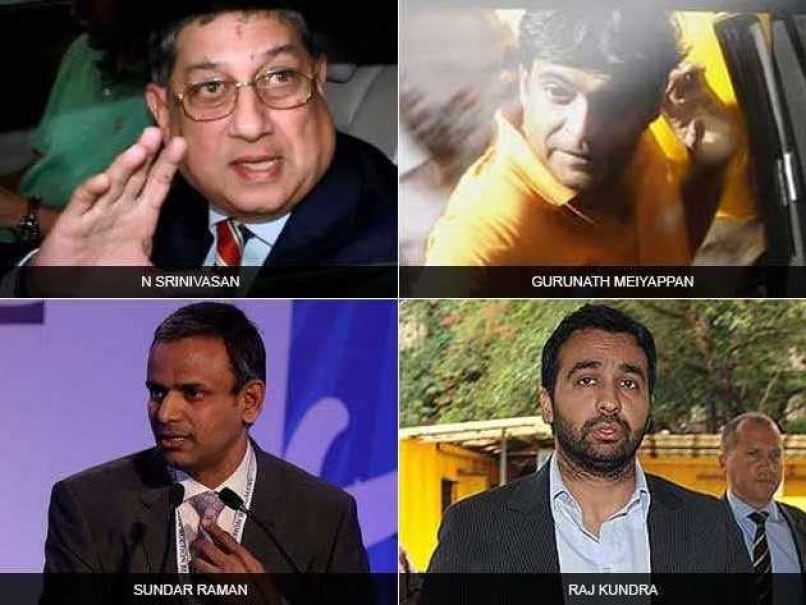 N. Srinivasan, Meiyappan, Raj Kundra, Sundar Raman Named in IPL Scam Report; BCCI Puts AGM on Hold