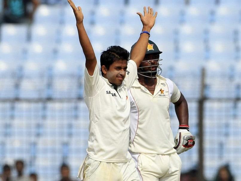 Third Test: Spinner Jubair Hossain Fifer Gives Bangladesh the Edge vs Zimbabwe