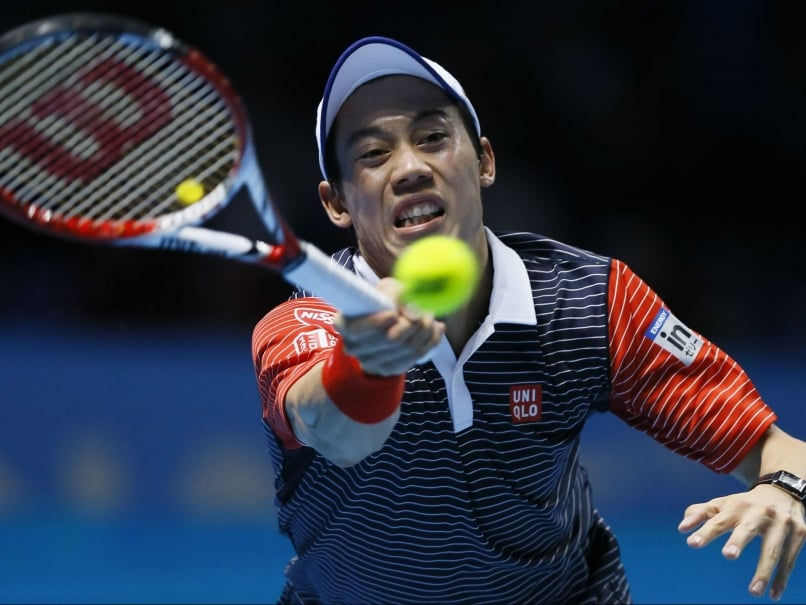 Kei Nishikori Wins, Roger Federer Qualifies For London ATP Semis