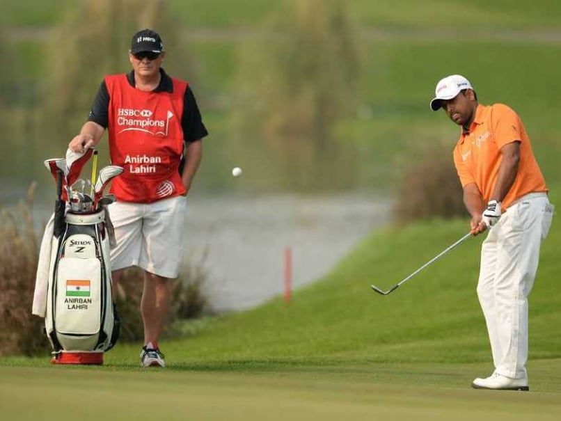 Anirban Lahiri Struggles to 74, Slips to Tied 34th in Shanghai Golf