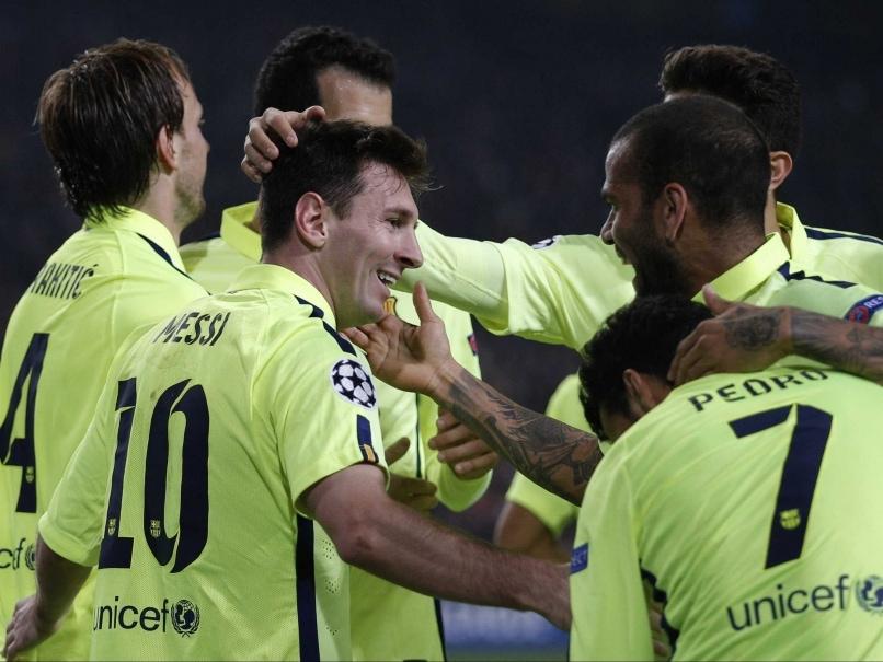 Lionel Messi Equals Raul's 71 Champions League Goals Record