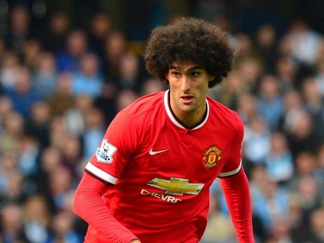 Manchester Uniteds Marouane Fellaini Denies Spitting at Citys Sergio Aguero