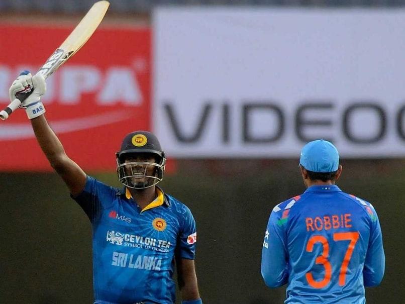 India Series Bitter-Sweet for Sri Lanka Captain Angelo Mathews