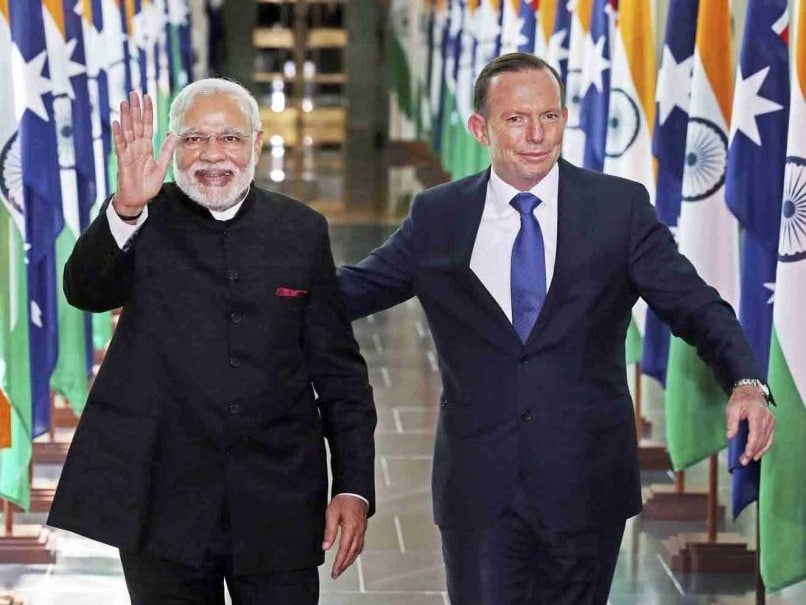 Prime Ministers Narendra Modi, Tony Abbott Bond Over Common Love for Cricket