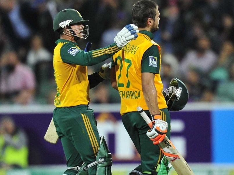 As it Happened - Australia vs South Africa, 1st T20