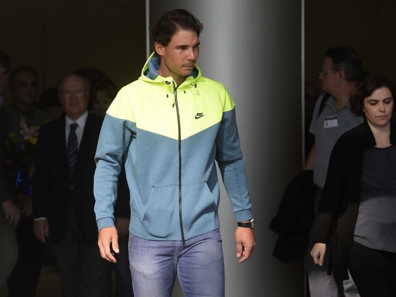 Rafael Nadal Leaves Hospital After Appendix Operation