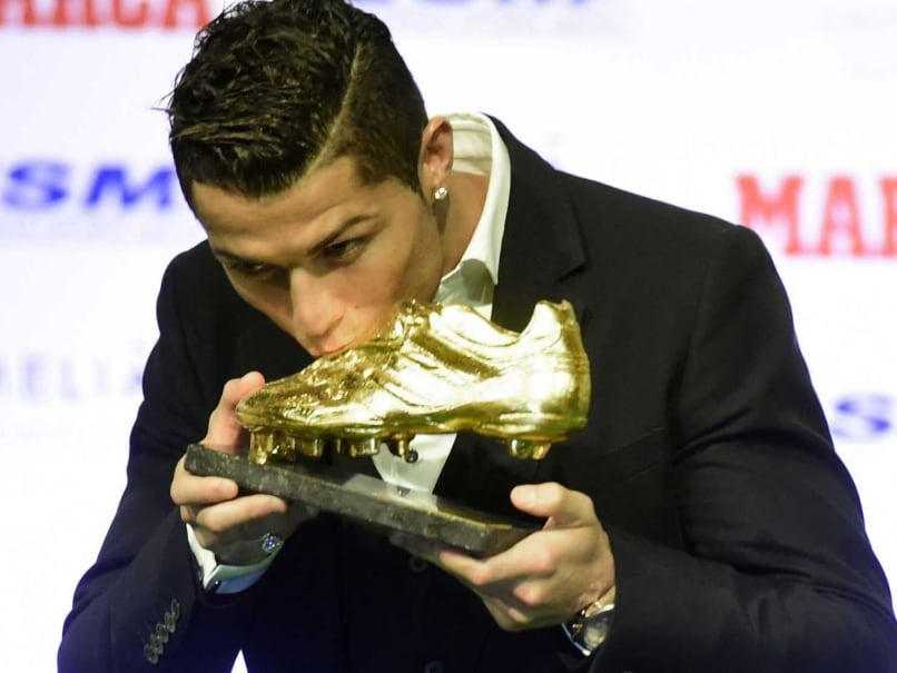 Cristiano Ronaldo Receives Golden Boot