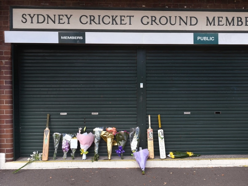 Cricket Australia, NSW Support State Memorial Service for Hughes