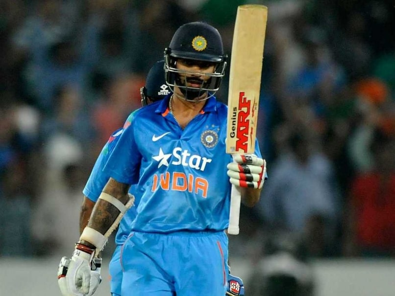 Shikhar Dhawan fifty