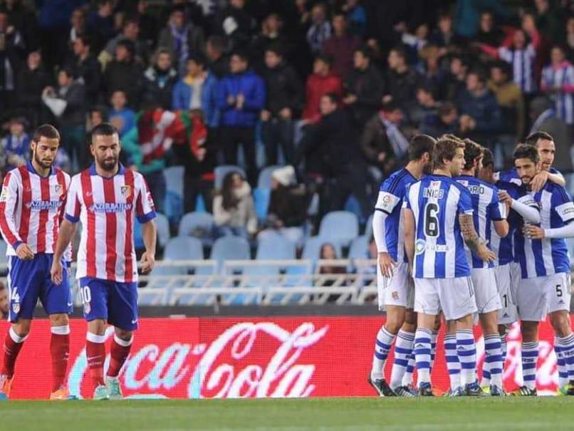 La Liga: Ten-Man Atletico Madrid Beaten by Managerless Real Sociedad