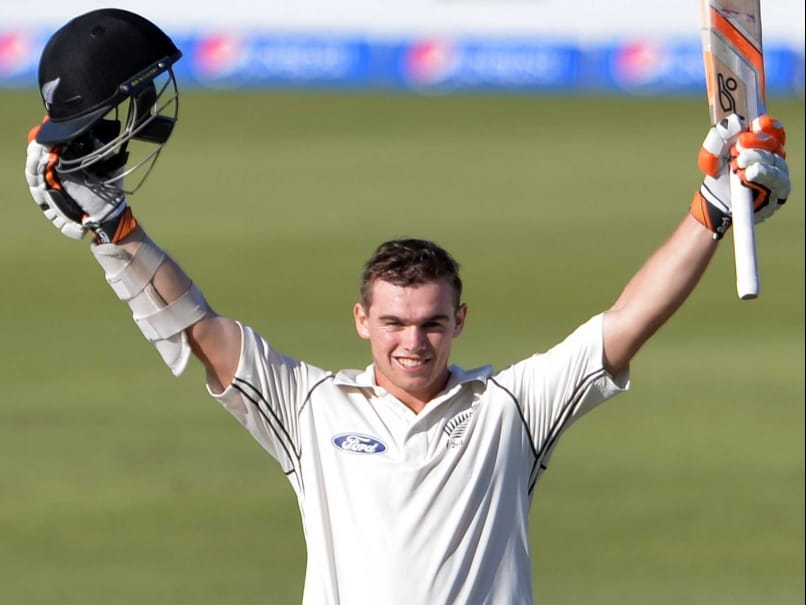 New Zealand's Tom Latham Proud to Follow Father's Footsteps With Ton