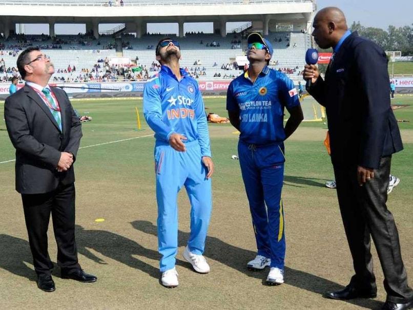 Virat Kohli Mathews toss