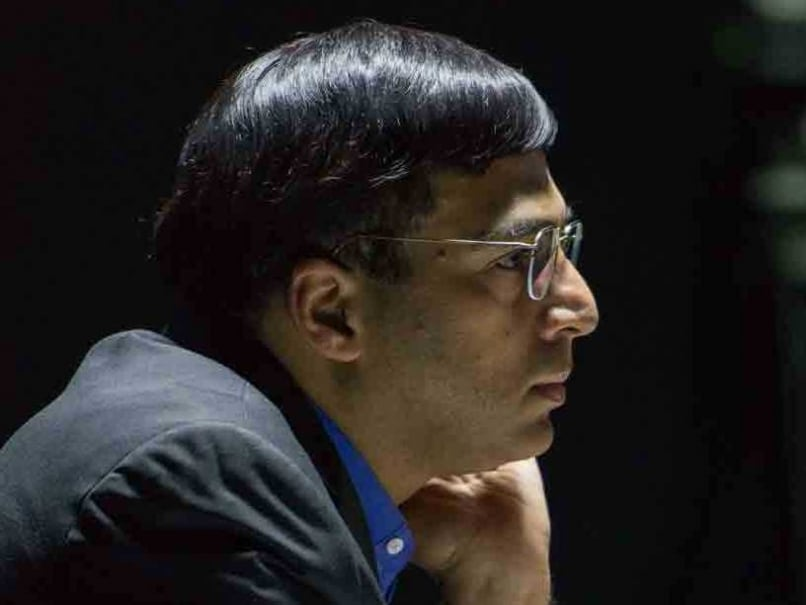 Viswanathan Anand Held by Russian Grandmaster Grigoriy Oparin at Gibraltar Chess