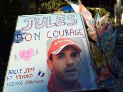 No Significant Progress in Jules Bianchi Condition, Says Father