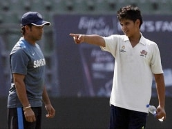 Sachin Tendulkar's Son Arjun Selected in Under-16 West Zone Team