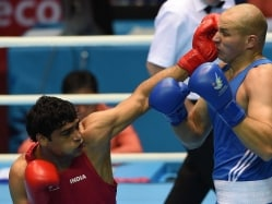 Satish Kumar in Asian Boxing Semis, Books World Championship Berth