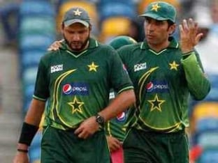 Misbah-ul-Haq is the Best Man to Lead Pakistan in World Cup: Shahid Afridi