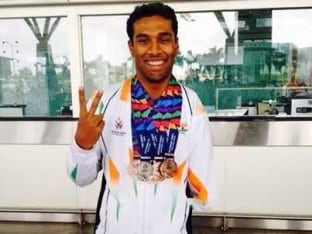 How Rahul Dravid Helped Para-Swimmer Sharath Gayakwad Beat P.T. Usha's Record