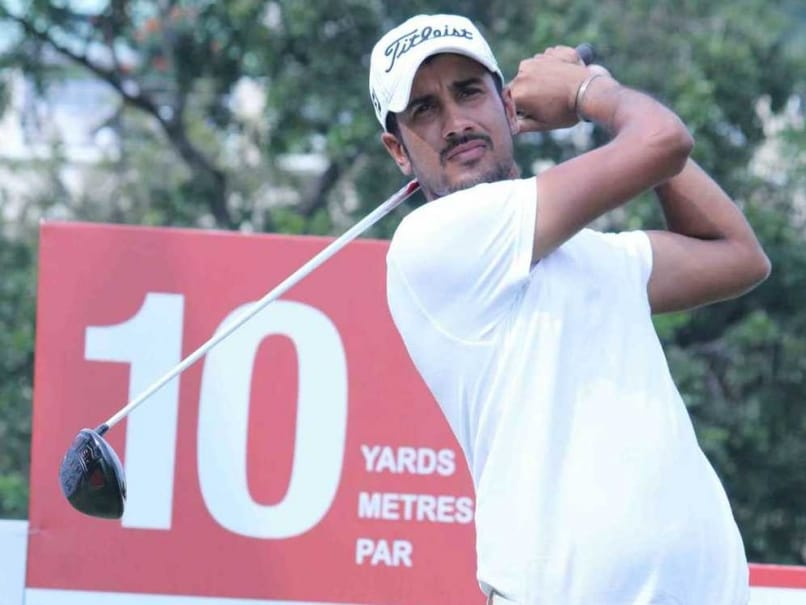 Abhishek Jha Takes Lead at India Masters Golf