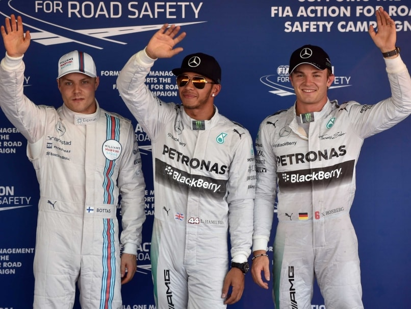 Russian Grand Prix: Lewis Hamilton Takes Pole as Drivers Honour Absent Jules Bianchi