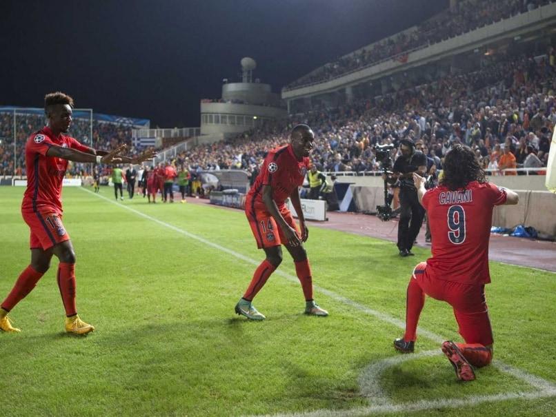 Edinson Cavani Handed One-Match Ban for Gun Celebration