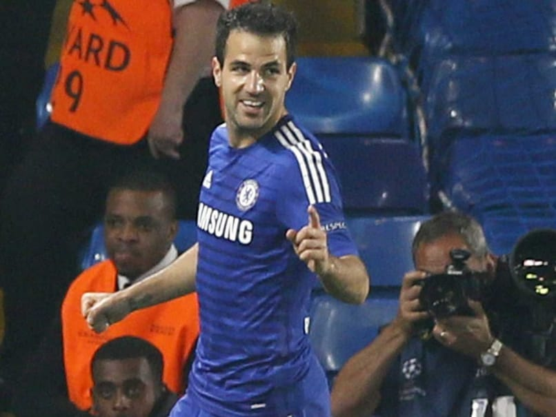 Cesc Fabregas in Focus in Chelsea F.C.-Arsenal F.C. Clash