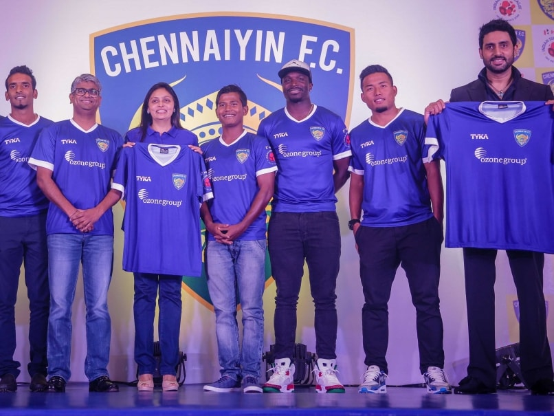 ISL: Chennaiyin FC Launches Jersey, Ozone Group Principal Sponsor