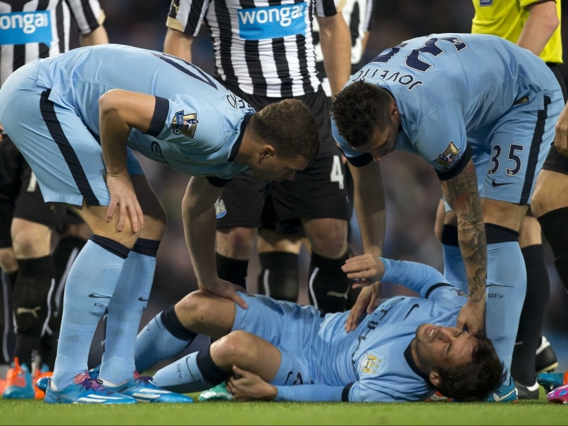 David Silva injury
