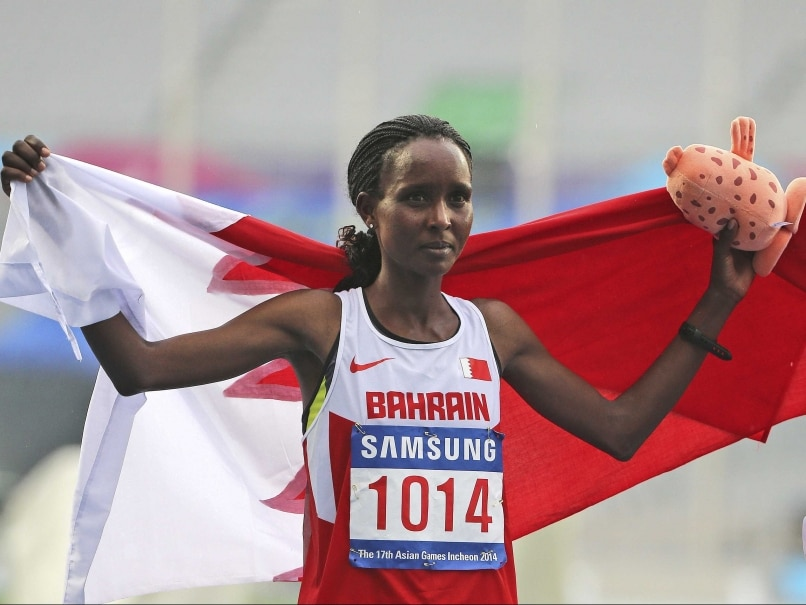Bahrain's Eunice Jepkirui Kirwa Wins Asian Games Women's Marathon