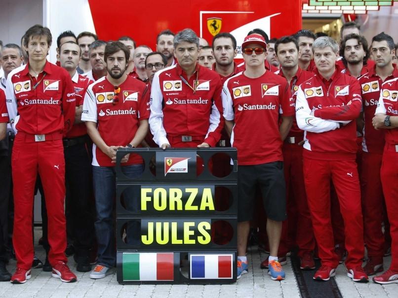Ferrari Honour Injured Driver Jules Bianchi