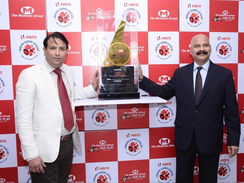 Indian Super League 'Fair Play' Trophy Unveiled