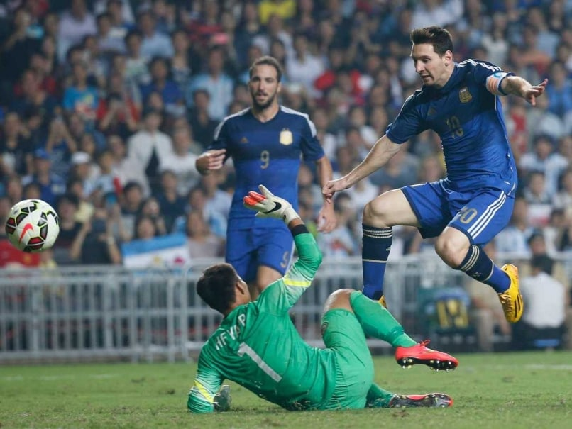 Double Delight for Heroic Lionel Messi as Argentina Thrash Hong Kong
