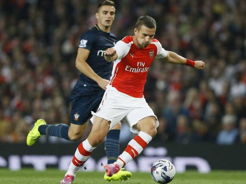 Lukas Podolski Brushes off Arsenal Frustrations
