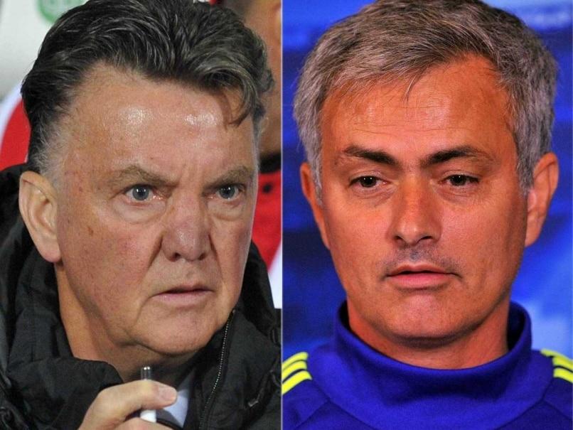 Manchester United F.C. vs Chelsea F.C.: Friends Reunite as Jose Mourinho, Louis van Gaal Clash