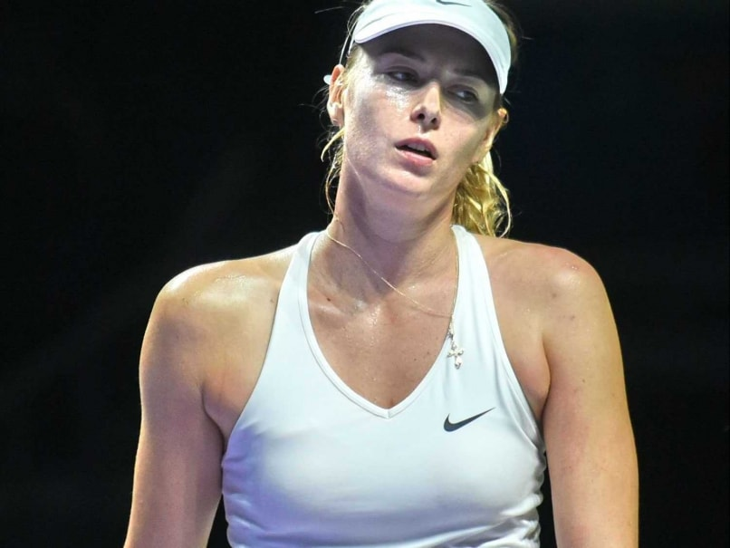 Maria Sharapova Knocked Out of WTA Finals