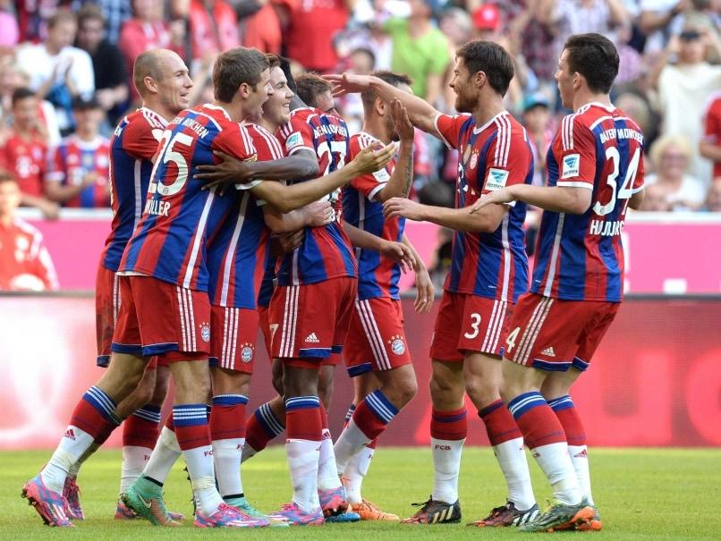 Bayern Munich Rout Werder Bremen 6-0 in Bundesliga