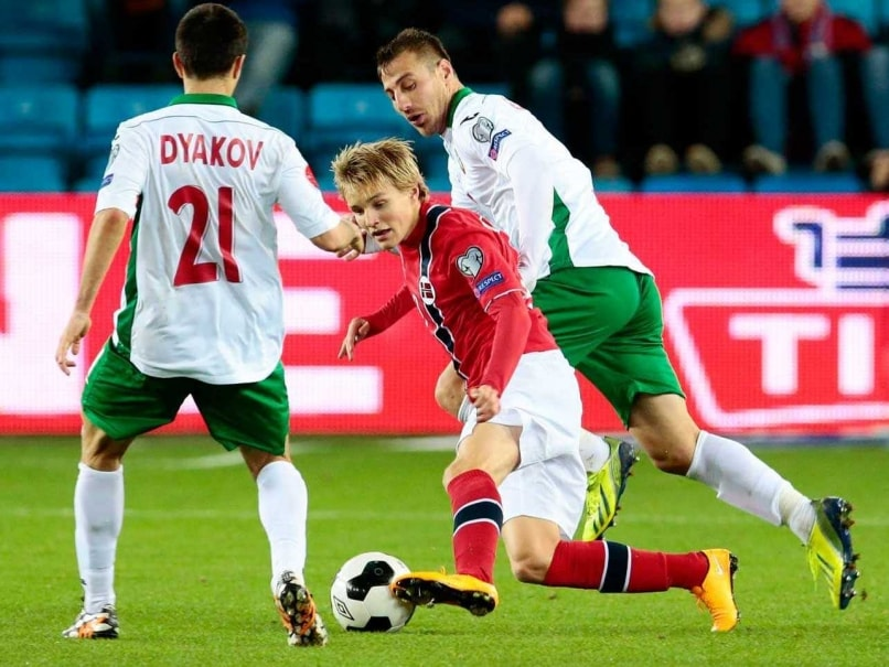 Norway's Odegaard Sets Euro Qualifier Age Record