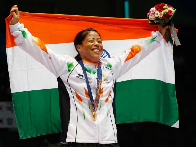 MC Mary Kom Lone Indian Woman Boxer Selected for Olympic Test Event