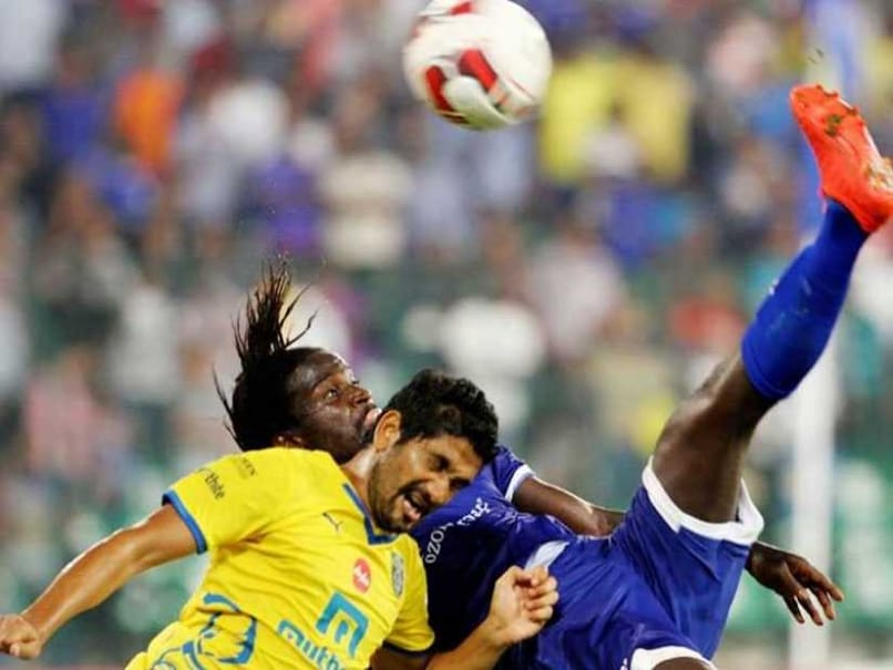 Indian Super League: Bernard Mendy Magic Wins it for Chennaiyin FC Against Kerala Blasters
