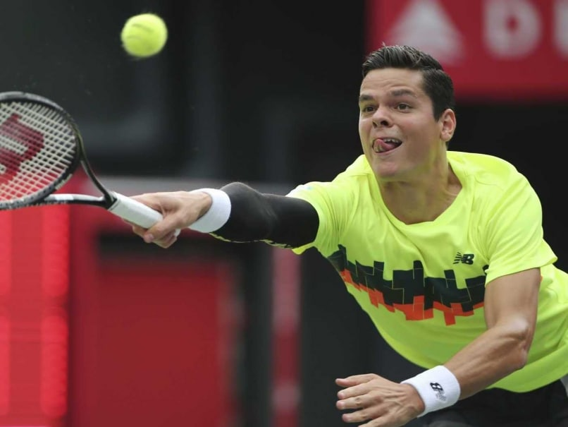 Milos Raonic, Ivo Karlovic Through to 2nd Round in Swiss Indoors
