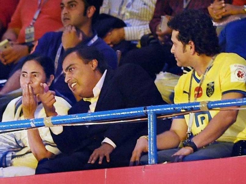 Mukesh Ambani Hails Indian Super League