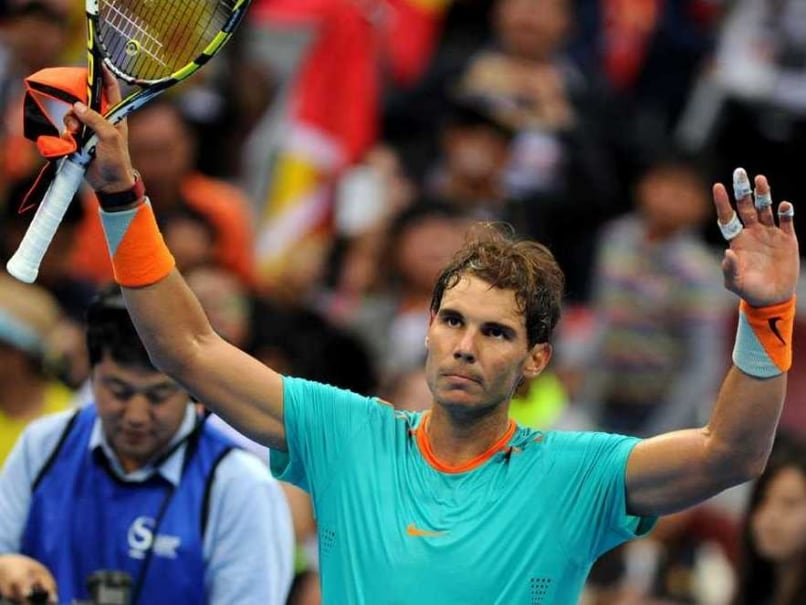 Rafael Nadal to Play Shanghai Masters Despite Appendicitis